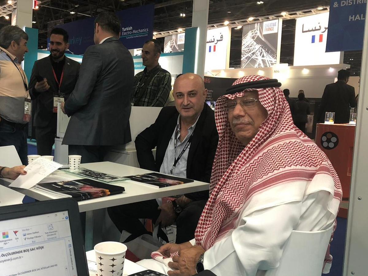 Dubai Middle East Electricity Fuarı' nda EVA Hücreler