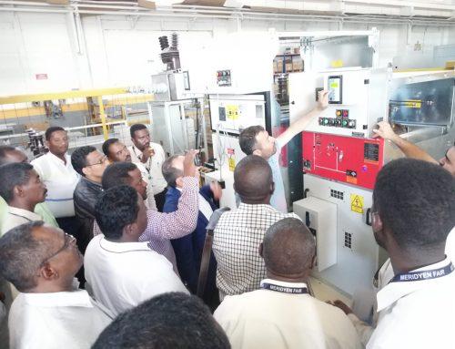 زيارة وفد من السودان لمصنعنا