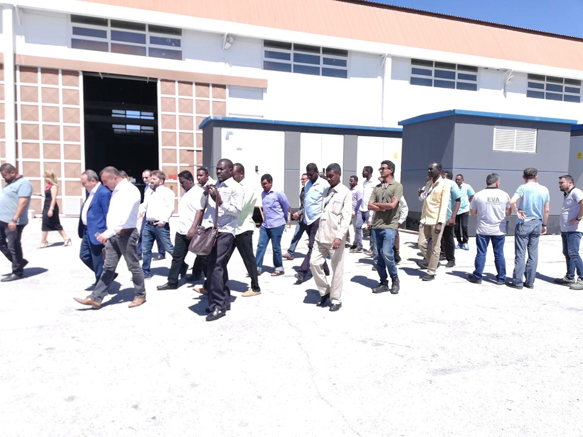 Sudanlı Misafirlerimizin Fabrika Ziyareti