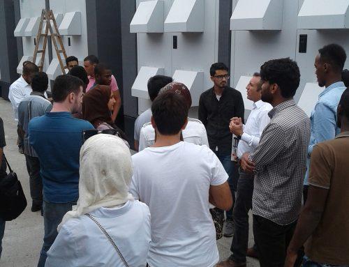 زيارة طلاب دوليين لمصنعنا