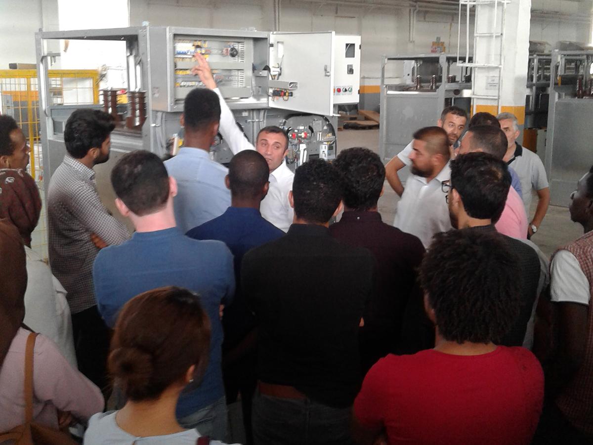 Yurtdışı Misafir Öğrencilerin Fabrikamızı Ziyareti