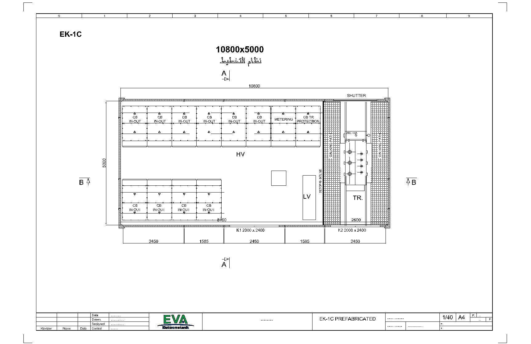 محطة توزيع مسبقة الصنع (3140) (5000) (10800) مم ملحق1 – ج